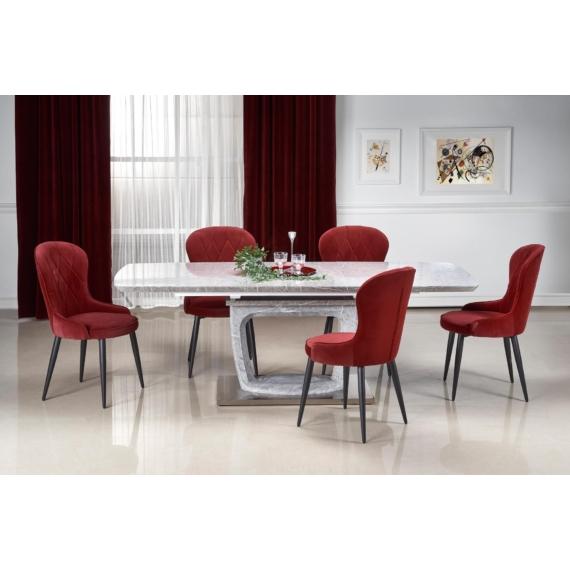 Artemon asztal, K366 székek | 6 személyes étkezőgarnitúra