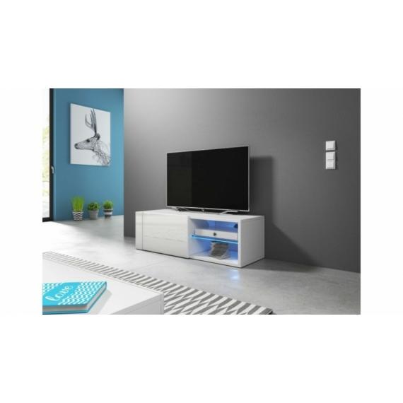 Best TV állvány fehér - fényes fehér