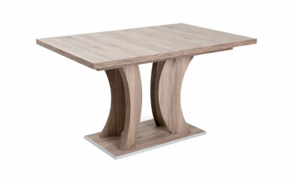 Bella asztal 130cm-es sonoma színben