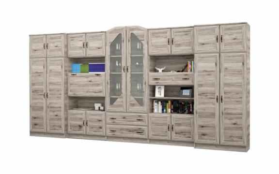 Senator 400 cm-es san remo színű nappali szekrénysor