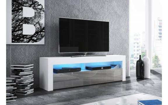 Mex Tv állvány fényes szürke